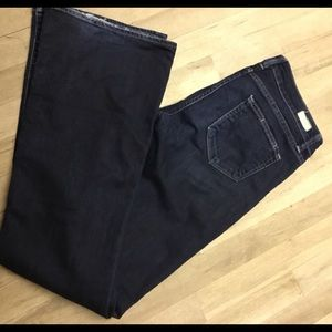 Paige skyline dark blue jeans 33 x 33